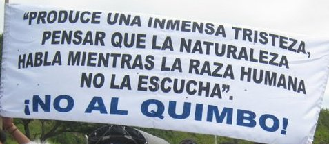 La verdadera realidad de la  represa el Quimbo