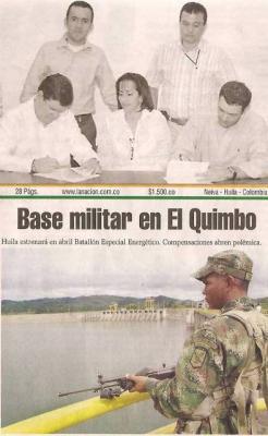 El gobernador Sánchez sí cumple: el Quimbo tendrá batallón