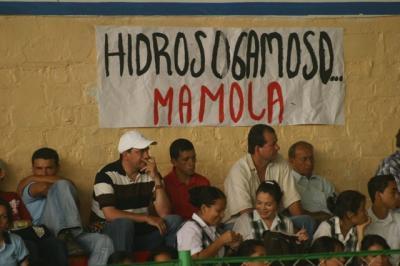 Audiencia Pública Ambiental sobre el macroproyecto Hidroeléctrica del Río Sogamoso