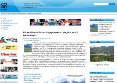 Megaproyectos: Megaimpactos Ambientales