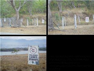 EMGESA permite campos minados en Betania