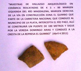 ¿Y DEL ICANH QUÉ?  Frente a los hallazgos arqueológicos en El Quimbo